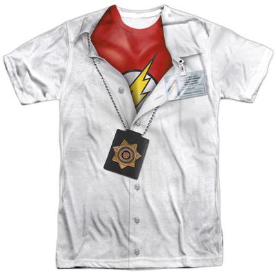 The Flash- Secret Identity Costume Tee Shirts