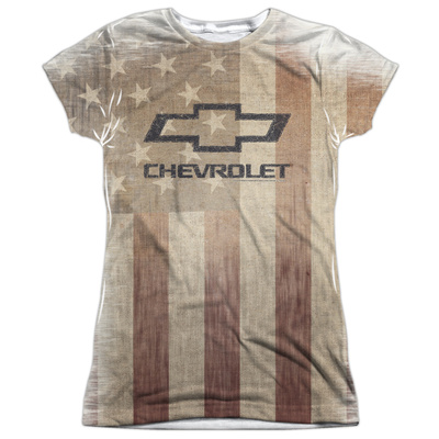 Juniors: Chevrolet- American Pride Womens Sublimated
