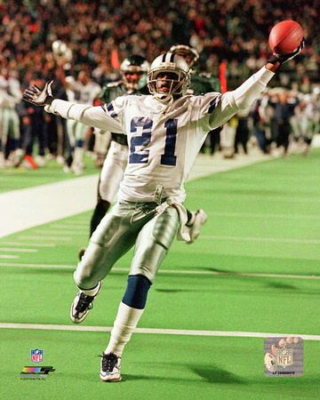 Deion Sanders 1998 Action Photo