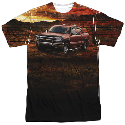 Chevrolet- Silverado In The Wild Shirts
