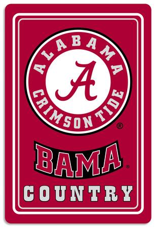NCAA Alabama Crimson Tide Tin Sign