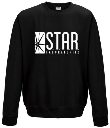 Crewneck Sweatshirt: The Flash - Star Labs Logo Shirts