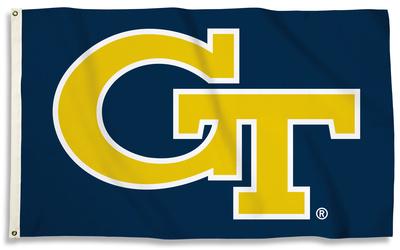 NCAA Georgia Tech Yellow Jackets Flag with Grommets Flag