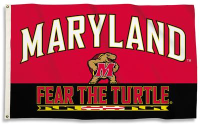 NCAA Maryland Terrapins Flag with Grommets Flag