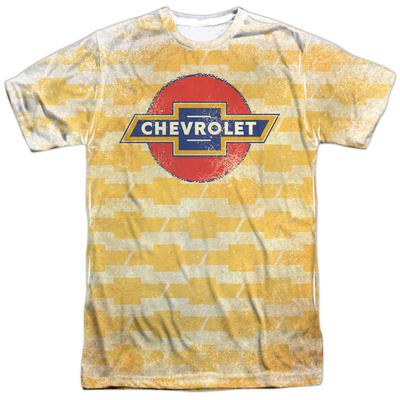 Chevrolet- Flying Logos Pattern T-shirts