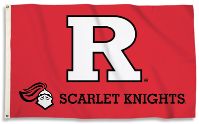 NCAA Rutgers Scarlet Knights Flag with Grommets Flag