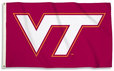NCAA Virginia Tech Hokies Flag with Grommets Flag