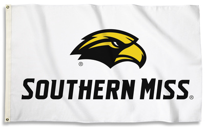 NCAA Southern Miss Golden Eagles Flag with Grommets Flag