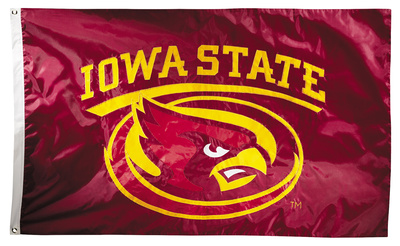 NCAA Iowa State Cyclones 2-sided Flag with Grommets Flag
