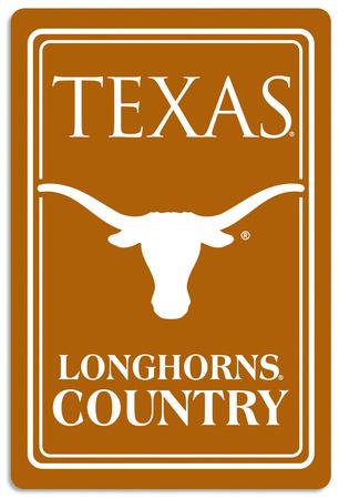 NCAA Texas Longhorns Tin Sign