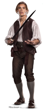 Henry - Pirates of the Caribbean 5 Cardboard Cutouts
