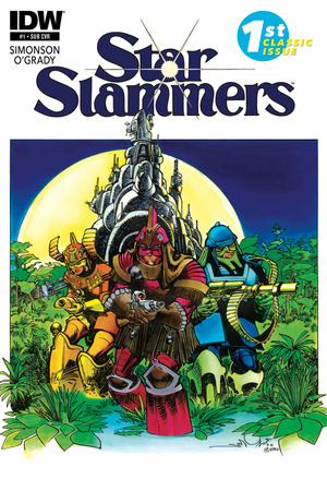 Star Slammers Issue No. 1 – Subscription Cover Posters by Walter Simonson
