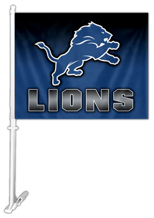 NFL Detroit Lions Car Flag Flag