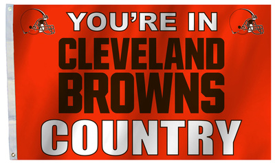 NFL Cleveland Browns Flag with Grommets Flag