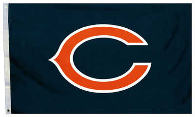 NFL Chicago Bears Flag with Grommets Flag