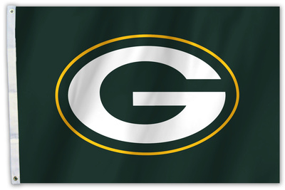 NFL Green Bay Packers Flag with Grommets Flag