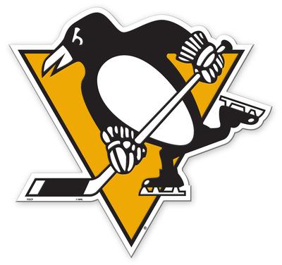 NHL Pittsburgh Penguins Vinyl Magnet Imán