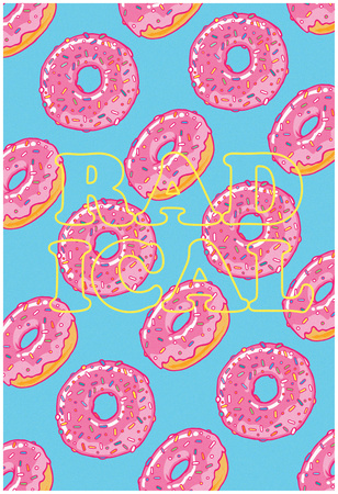 Radical Donut Storm Posters