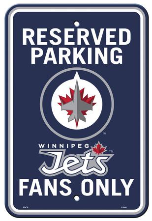 NHL Winnipeg Jets Parking Sign Wall Sign