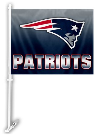 Flying Elvis New England Patriots car flag