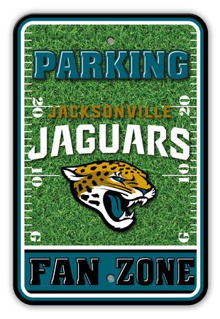 NFL Jacksonville Jaguars Field Zone Parking Sign Wall Sign
