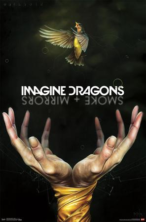 Imagine-Dragons- Smoke & Mirrors Prints