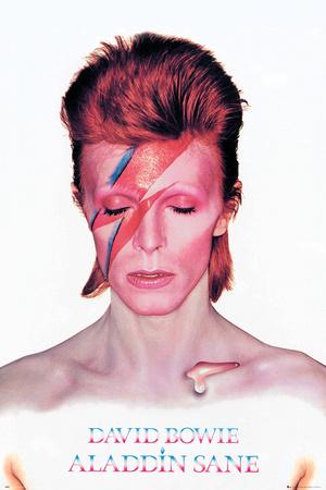 David Bowie- Aladdin Sane Album Cover plakat