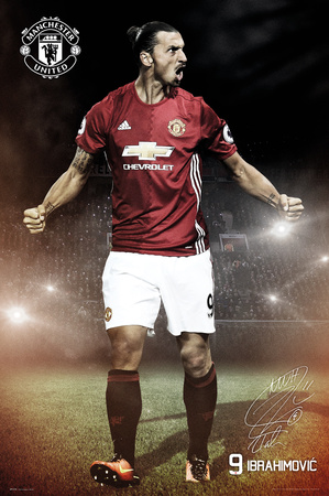 Manchester United- Ibrahimovic Poster