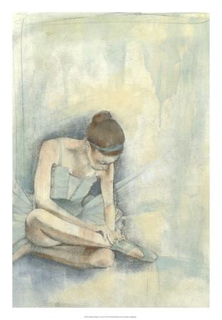 Ballerina Repose I Premium Giclee Print by Jennifer Goldberger