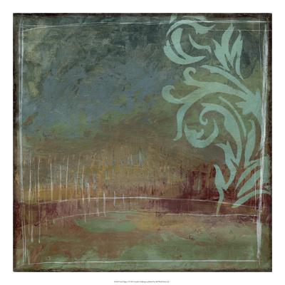 Lush Filigree I Premium Giclee Print by Jennifer Goldberger