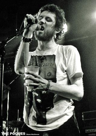 The Pogues- Shane MacGowan Live Prints