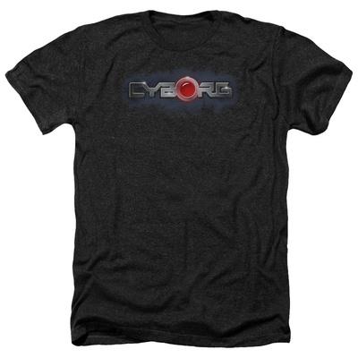 Cyborg- Chrome Logo Shirt