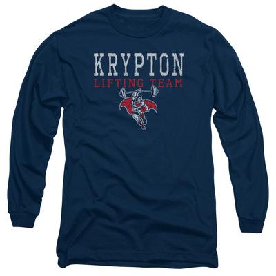 Long Sleeve: Superman - Krypton Lifting Team Long Sleeves