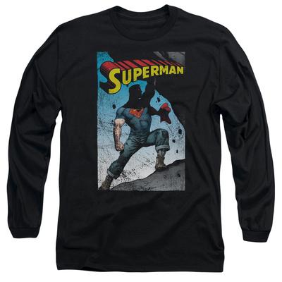 Long Sleeve: Superman- Super Strong T-Shirt