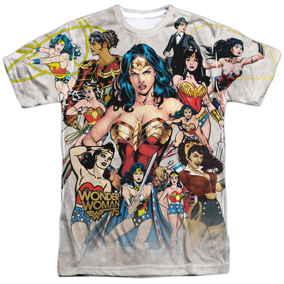 Wonder Woman- 75Th Collage Sublimated