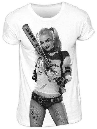 Suicide Squad - Harley At Bat T-Shirt