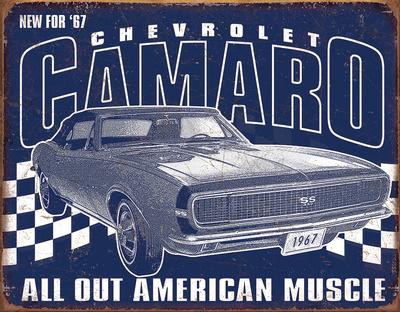 Camaro - 1967 Muscle Tin Sign