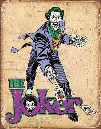 DC Comics - The Joker Tin Sign