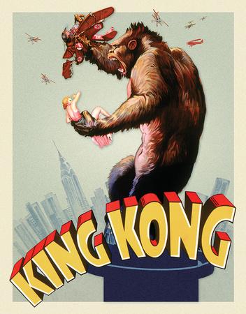 King Kong - Original Poster Tin Sign