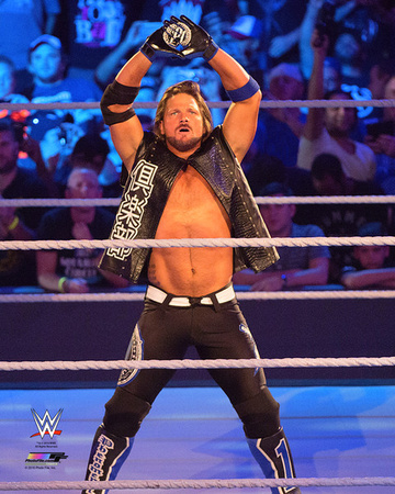 A.J. Styles 2016 Action Photo