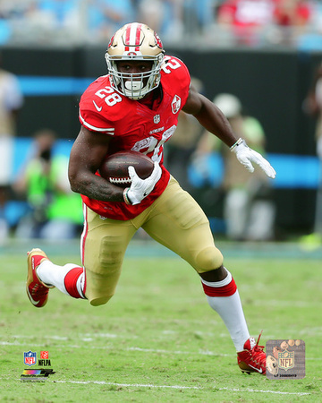 Carlos Hyde 2016 Action Photo