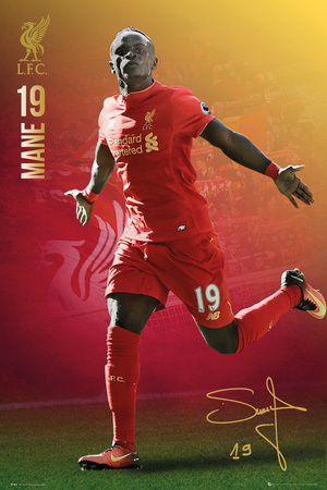 Liverpool F.C.- Mane 16/17 Posters