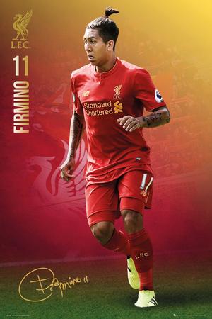 Liverpool F.C.- Firmino 16/17 Prints