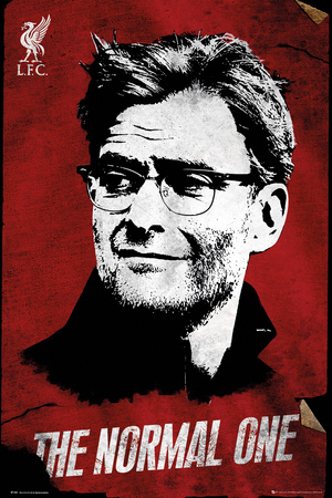 Liverpool F.C.- The Normal One Poster