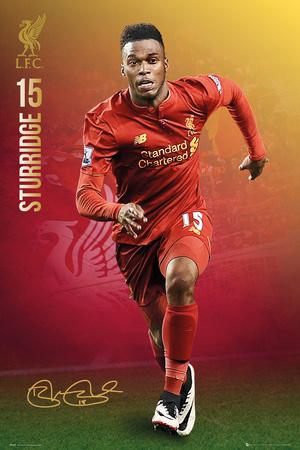 Liverpool F.C.- Sturridge 16/17 Prints