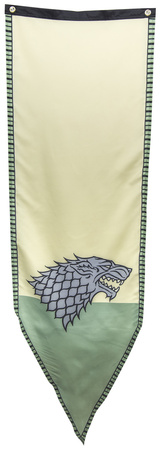 Game of Thrones- Stark Winterfell Tournament Banner Prints
