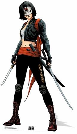 Katana - Suicide Squad Postacie z kartonu
