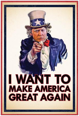 Uncle Trump Wants You Plakát