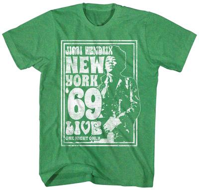 Jimi Hendrix- New York Live '69 T-Shirts