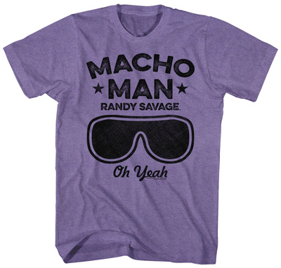 Macho Man- Savage Goggles Tshirts